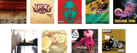 Album covers Lisa