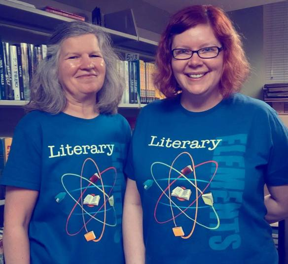 literary not literal twins