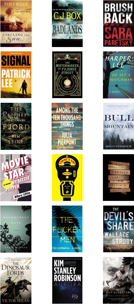 Notable New Fiction in the Everett Public Library catalog