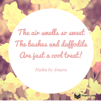 Air smells sweet