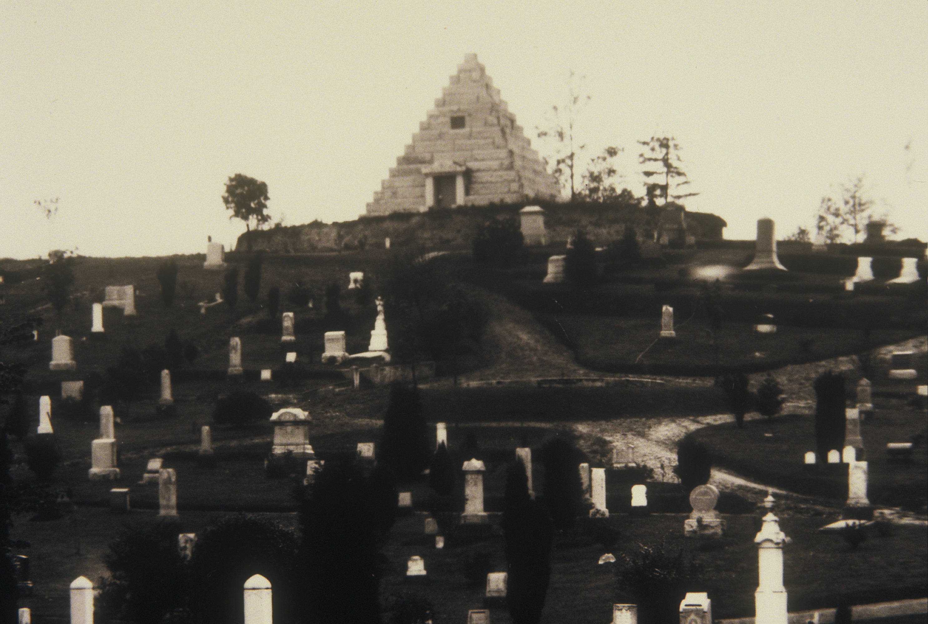 Evergreen Cemetery, 1912